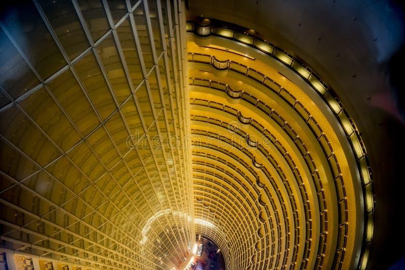 Inside the Jin-Mao-Tower Shanghai, China