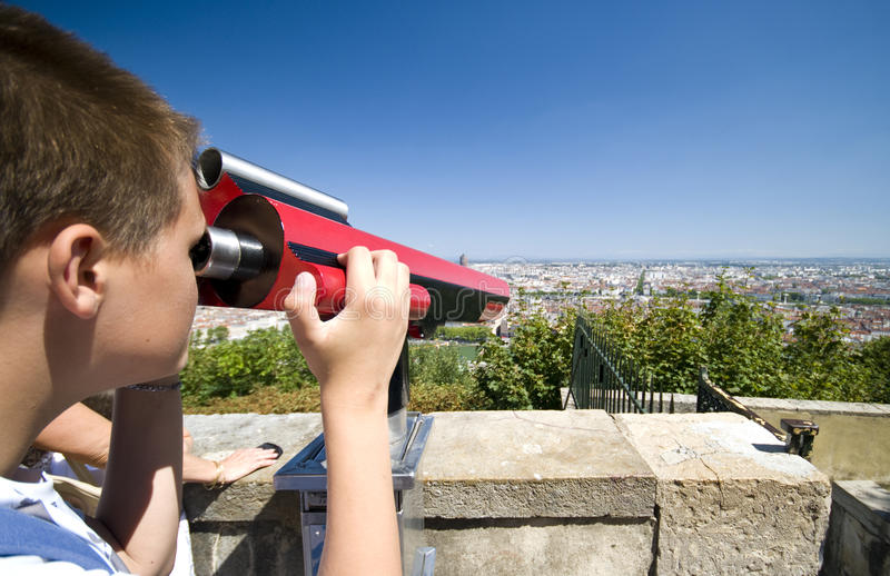 Download Look at Lyon stock photo. Image of admire, looks, binoculars - 11755588