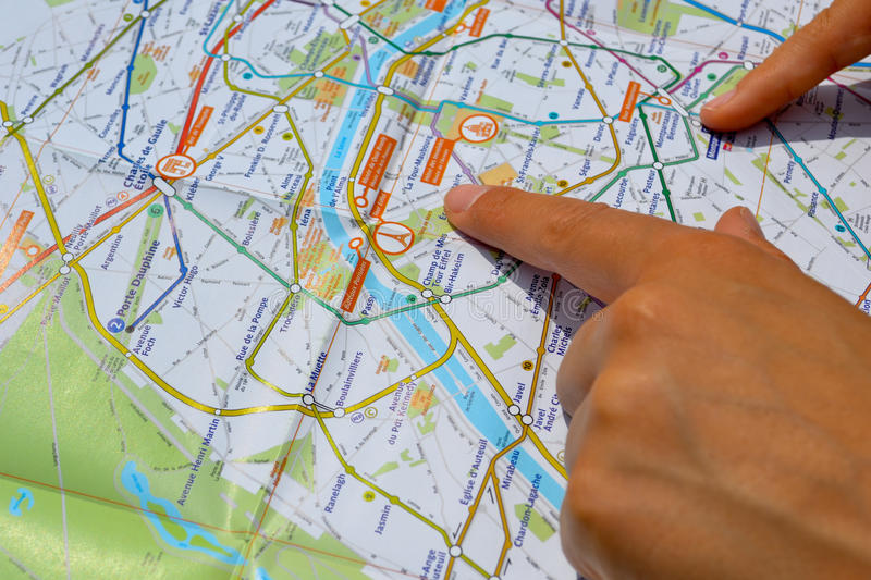 Download Look on the map stock photo. Image of attractions, sightseeing - 19519910
