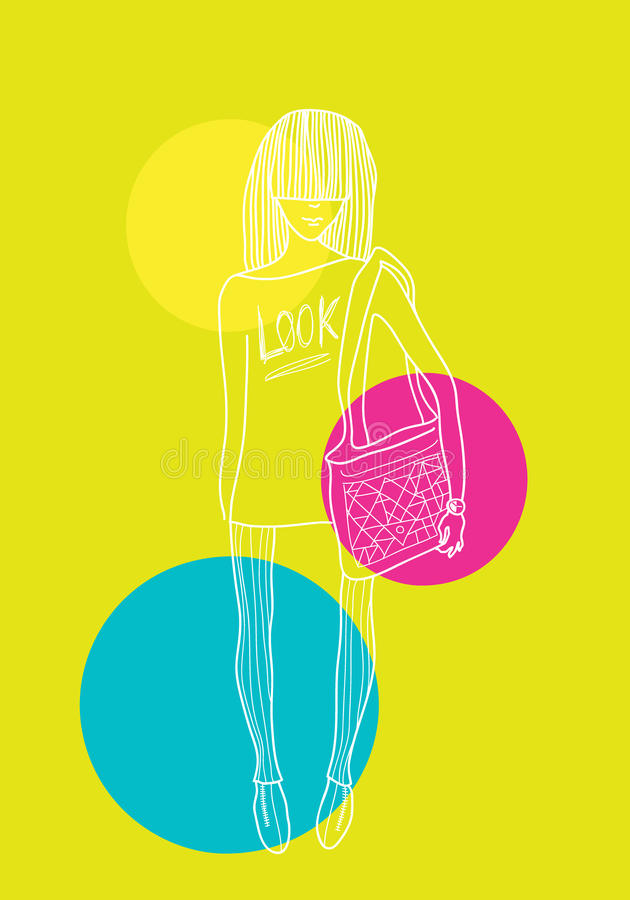 Download Look stock vector. Image of circle, style, summer, background - 31246949