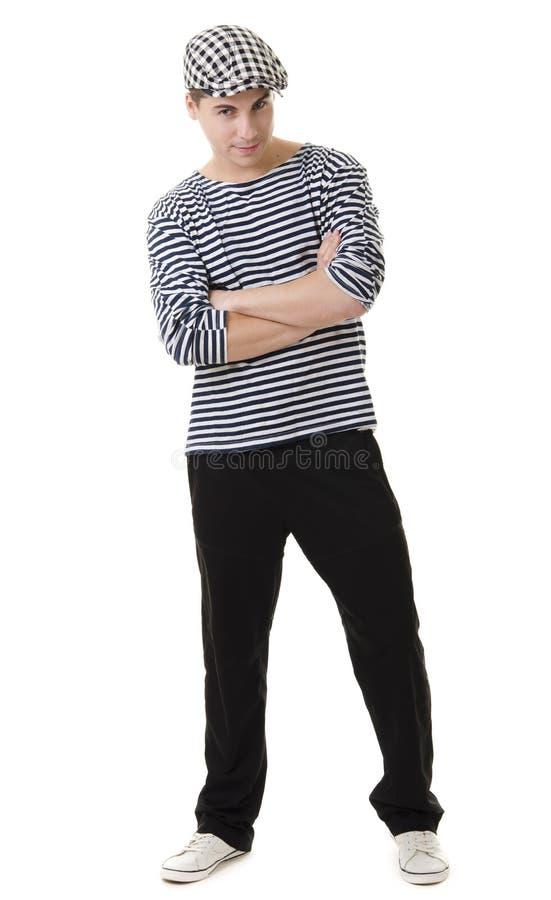 Look naughty stylish young man stock photo