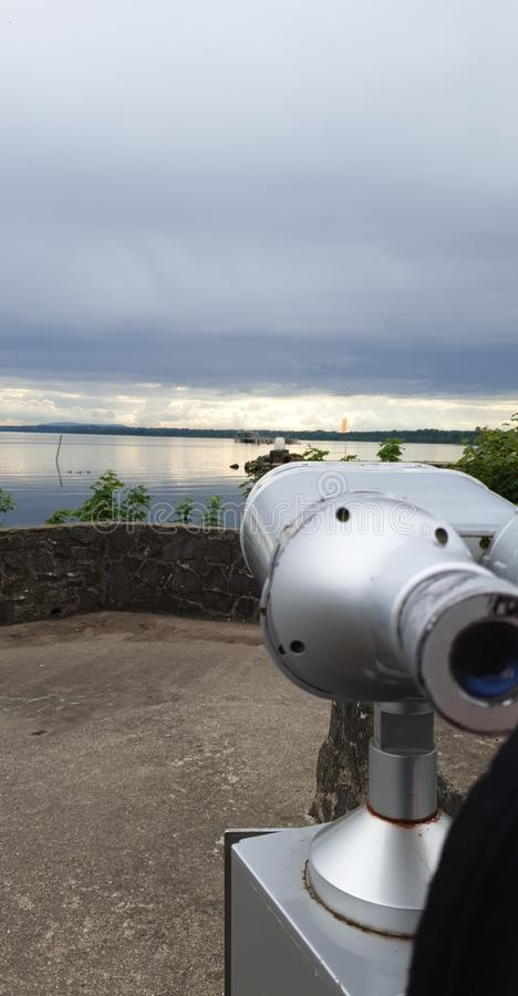 A look over the lough royalty free stock images