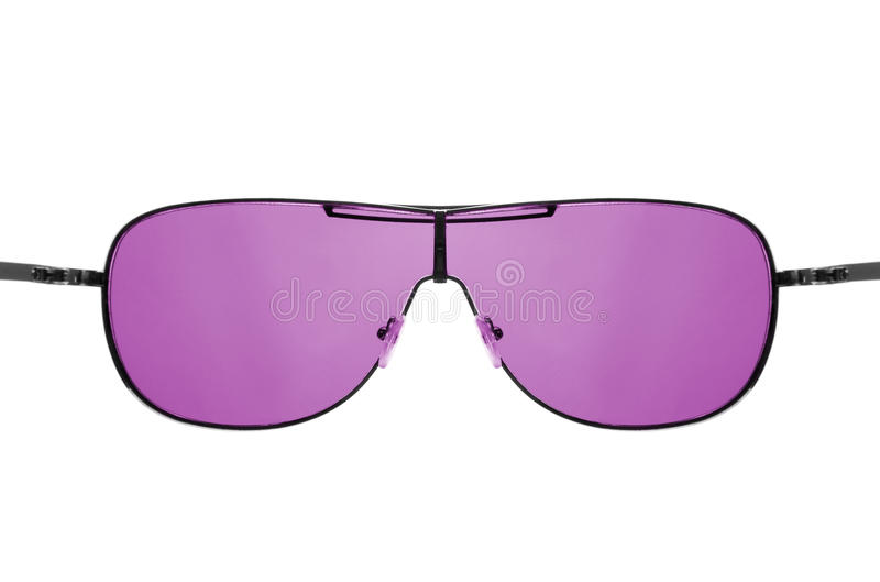 Download Look Through Pink Sunglasses Stock Image - Image: 25057429