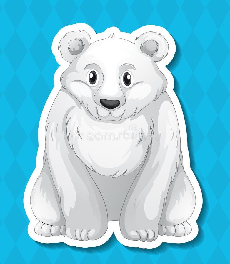 Look polar ilustração royalty free