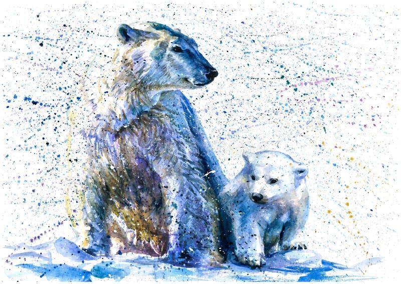 Look polare illustrazione di stock