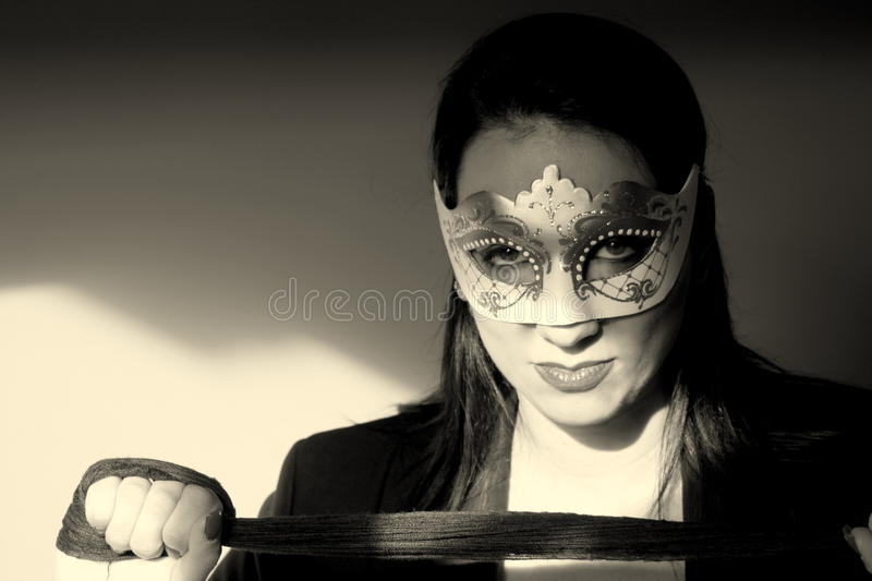 Look provocative woman royalty free stock images