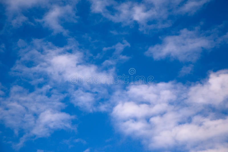 Look on the sky. Look on the blue sky and clouds royalty free stock images