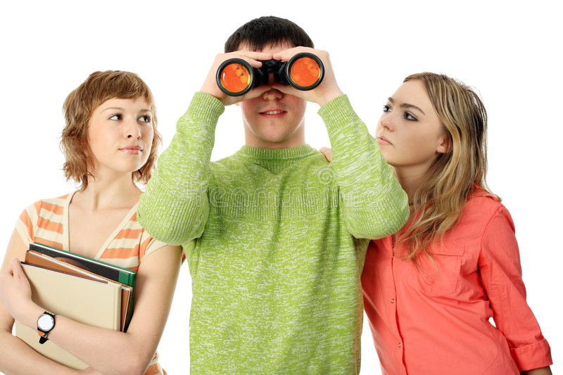 Download Look to the future stock photo. Image of exam, future - 8583108