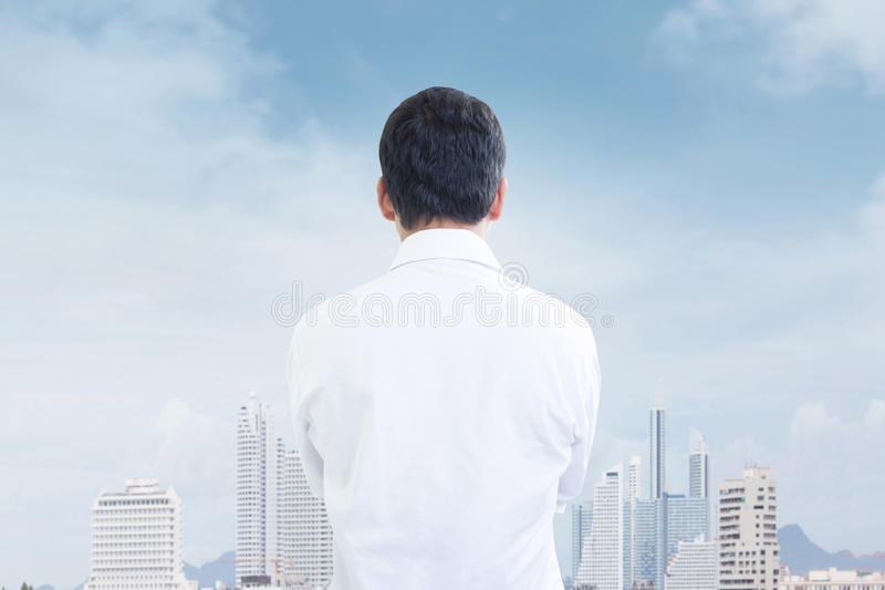 Look to The Future royalty free stock image