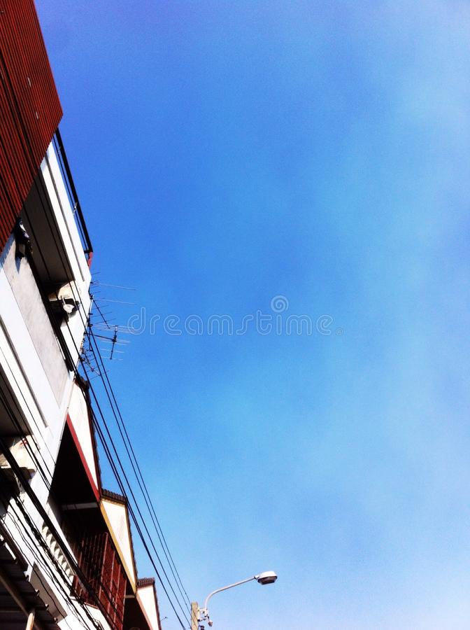 look up the sky royalty free stock image