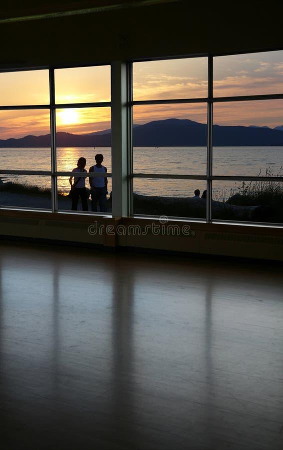Look through a window royalty free stock photos