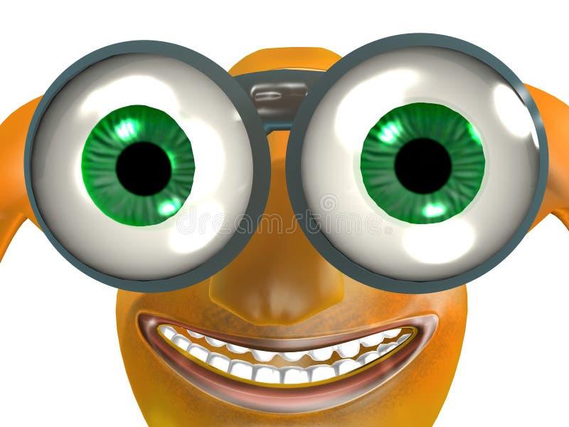 Download Looking stock illustration. Image of binoculars, searching - 3631164