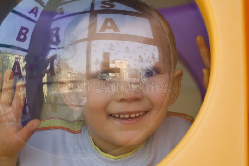 Download Looking boy stock image. Image of look, child, playground - 471005
