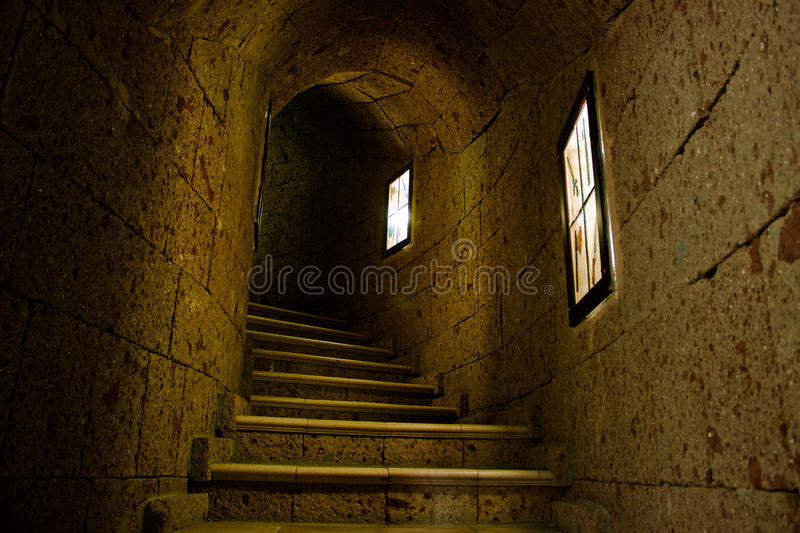 Looking for Count Dracula royalty free stock images