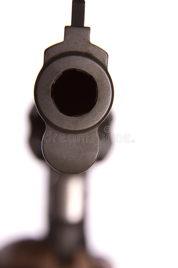 Free Looking Down Barrel Of Gun Royalty Free Stock Photography - 11742997