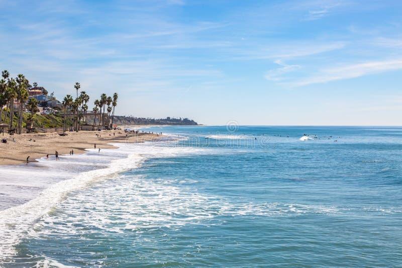 San Clemente Beach, California royalty free stock photos