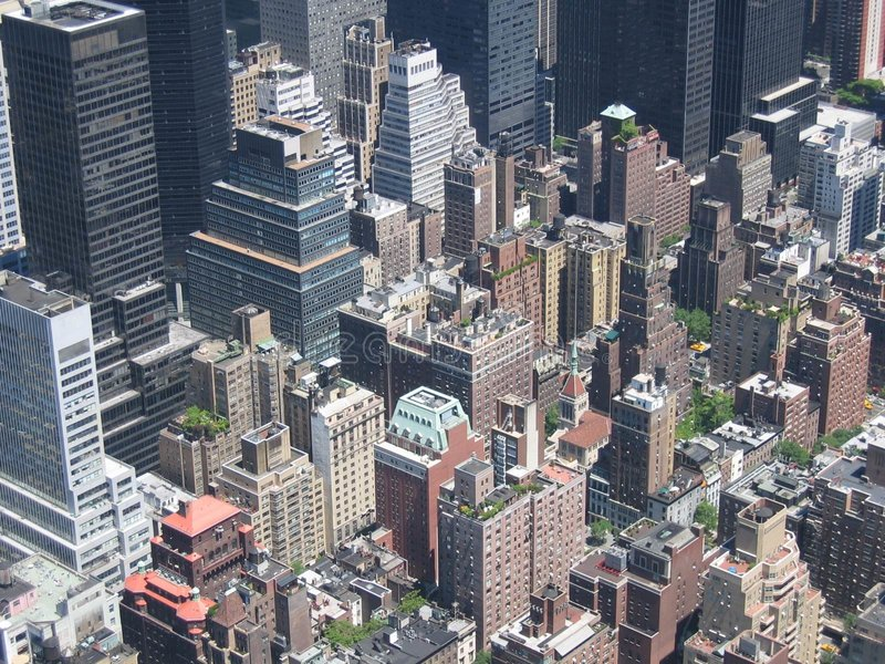Download Looking Down From The Empire State Building Stock Photo - Image: 14026