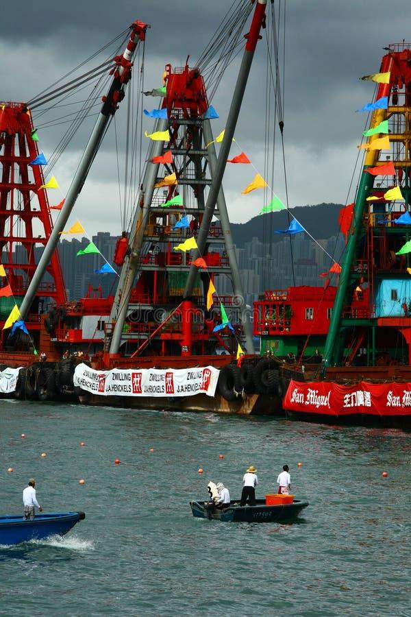 Hong Kong Dragon Boat Carnival Editorial Stock Photo