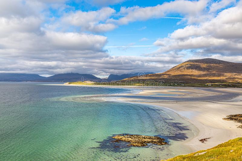 Seilebost Beach, The Western Isles stock photos