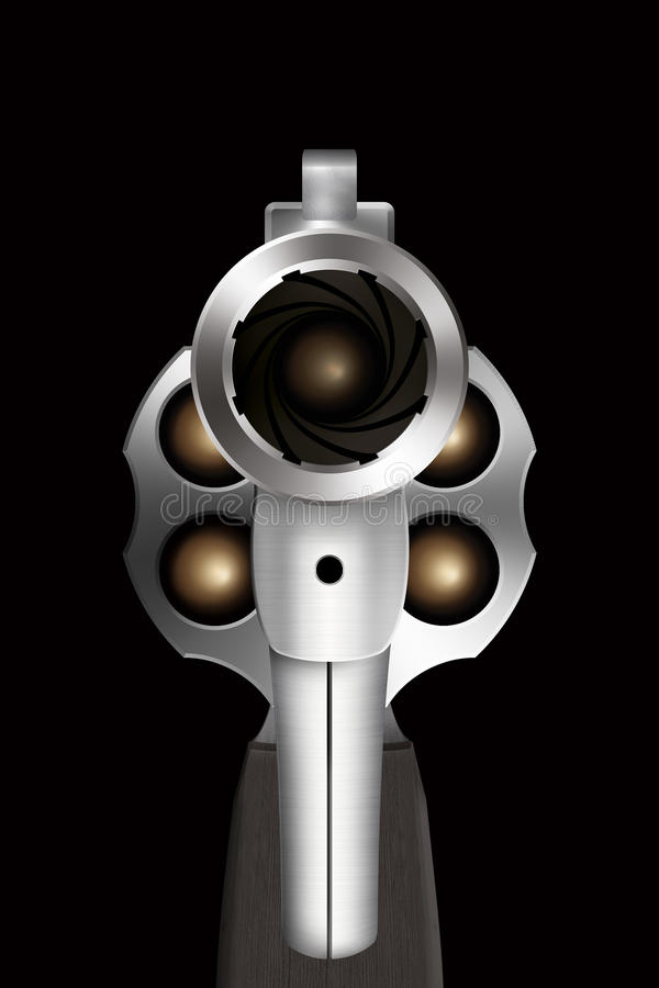 Free Looking Down The Barrel Of A Gun Royalty Free Stock Image - 70139476