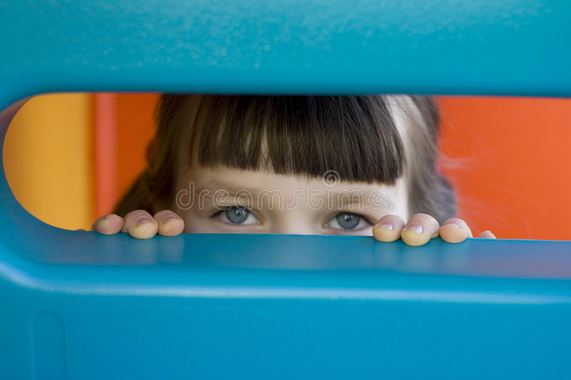 Download Looking eyes stock image. Image of mysterious, secret, child - 470963