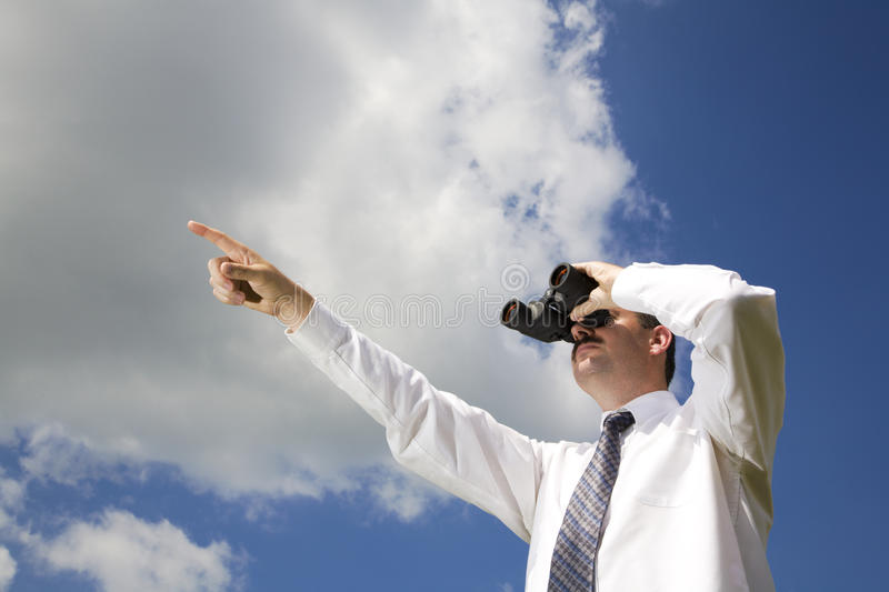 Download Looking forward stock photo. Image of white, vision, businessman - 10545558