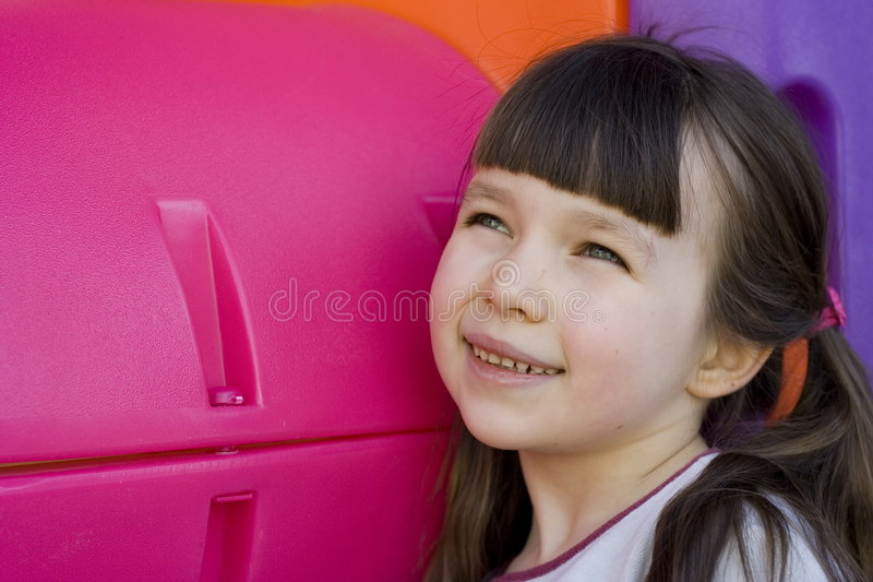 Download Looking Girl In To The Future Stock Photo - Image: 470968