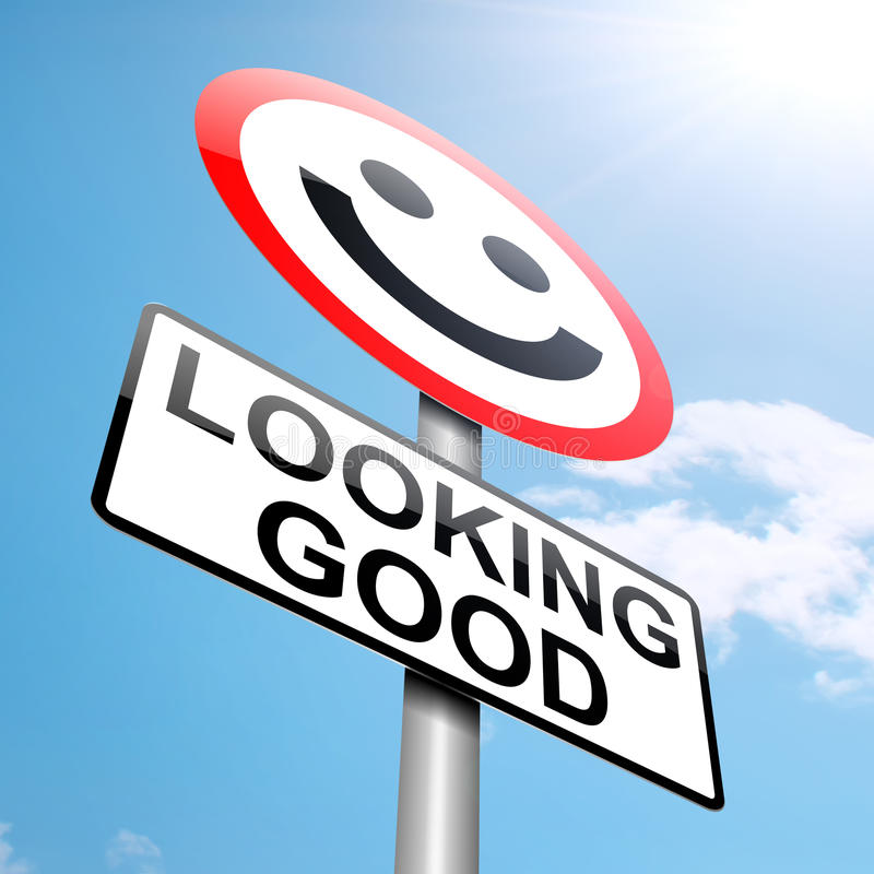 Free Looking Good Concept. Royalty Free Stock Photo - 26198665