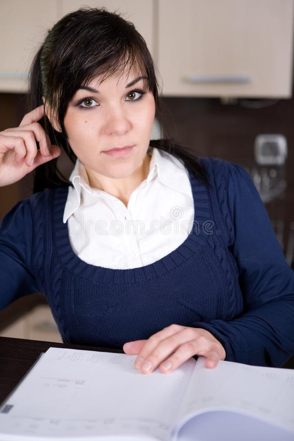 Download Looking for a job stock image. Image of female, communicate - 8339487