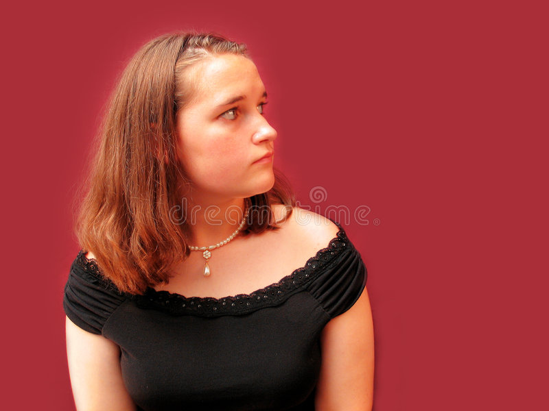 Download Looking left stock image. Image of blank, face, side, portrait - 13767