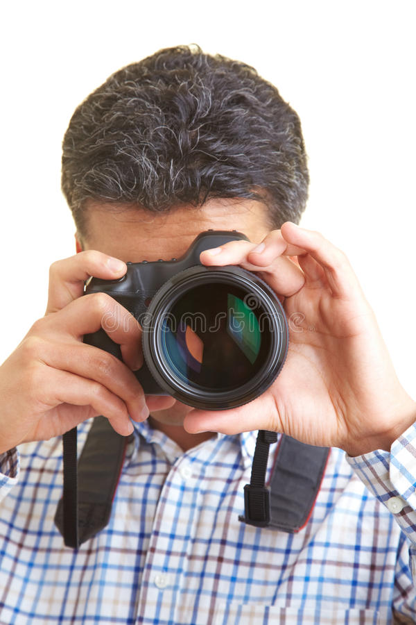 Download Looking through a lens stock image. Image of person, ability - 10390031