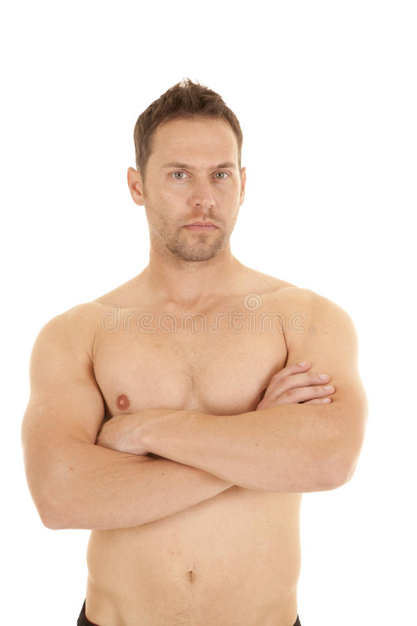Download Looking no shirt stock image. Image of portrait, bicep - 28908381