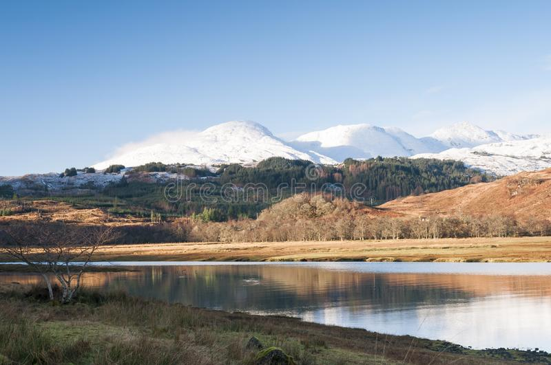 Loch Eil royalty free stock photography