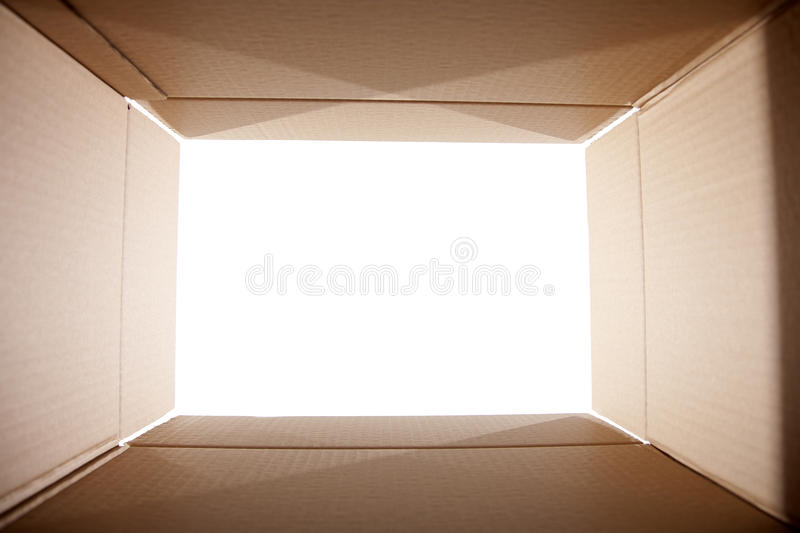 Download Looking out from the box stock photo. Image of blank - 23368388