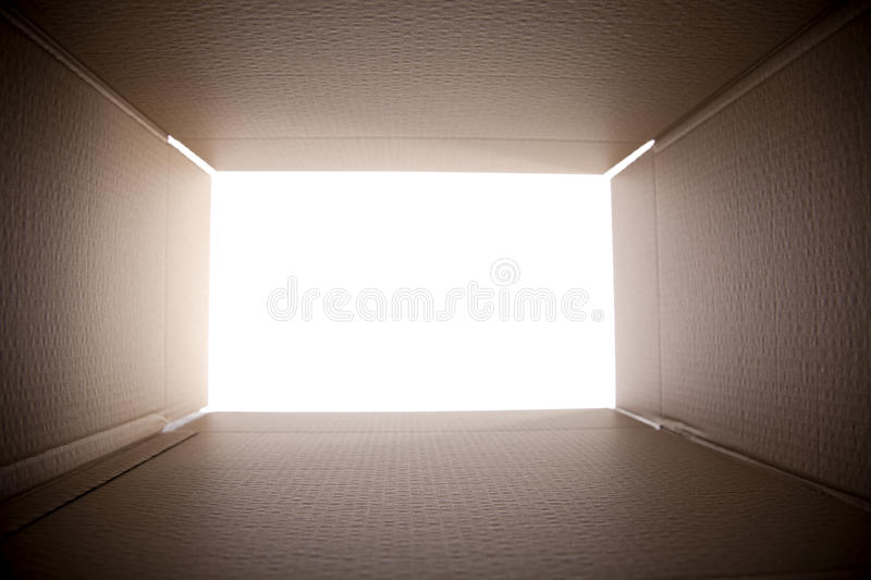 Download Looking out from the box stock photo. Image of nobody - 23368530