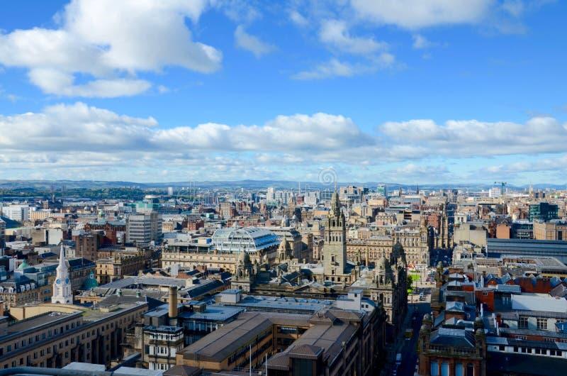 Glasgow skyline royalty free stock images