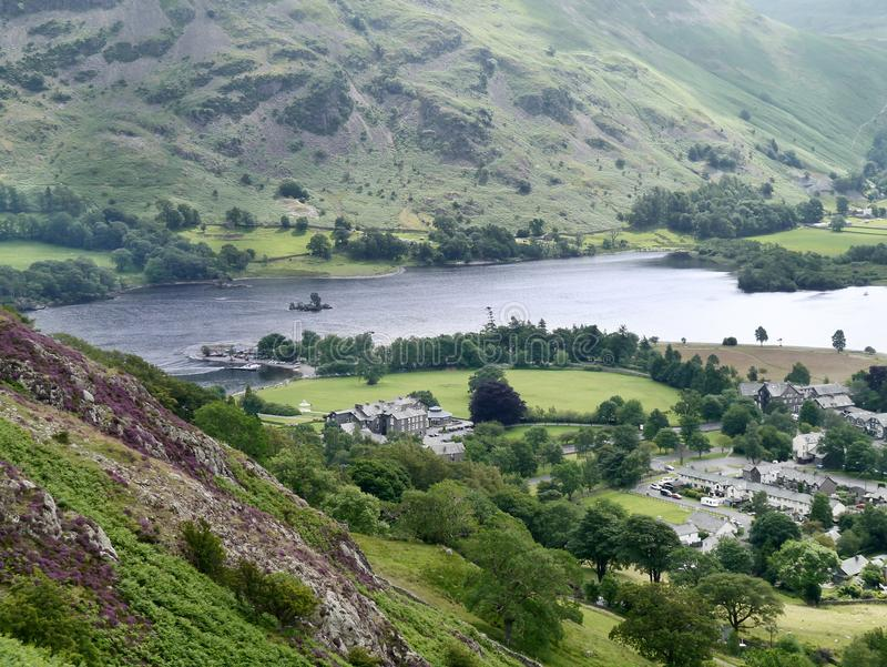 Download Looking Over To Ullswater, Lake District Stock Image - Image of activity, overlooking: 83711671