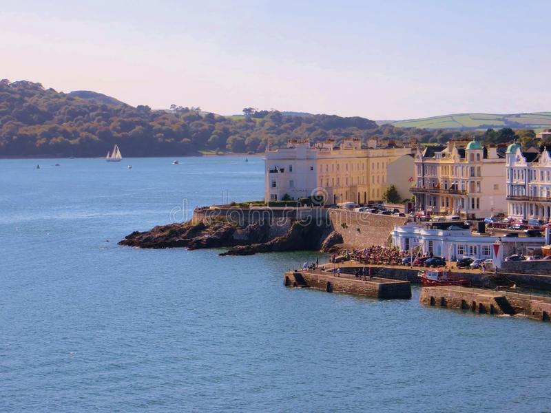 Looking from Plymouth Hoe royalty free stock image