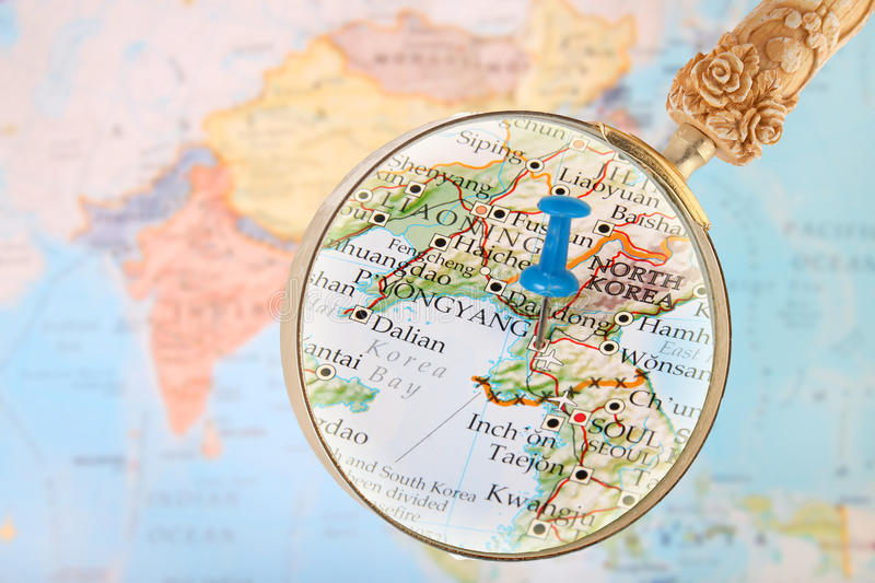 Looking in on pyongyang north korea stock image image of interest download looking in on pyongyang north korea stock image image of interest geography gumiabroncs Choice Image