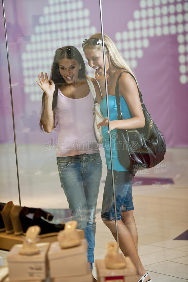 Download Looking Through Shop Window Stock Photo - Image: 15440194