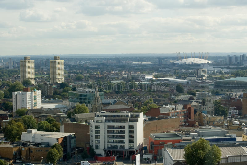 Download Looking From Stratford To Greenwich, London Stock Image - Image: 16433765
