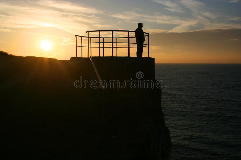 Download Looking at the sunset stock image. Image of life, lifestyle - 310969