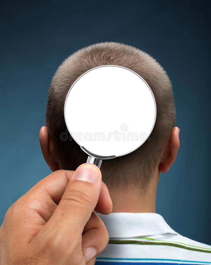Looking To A Head Royalty Free Stock Photo