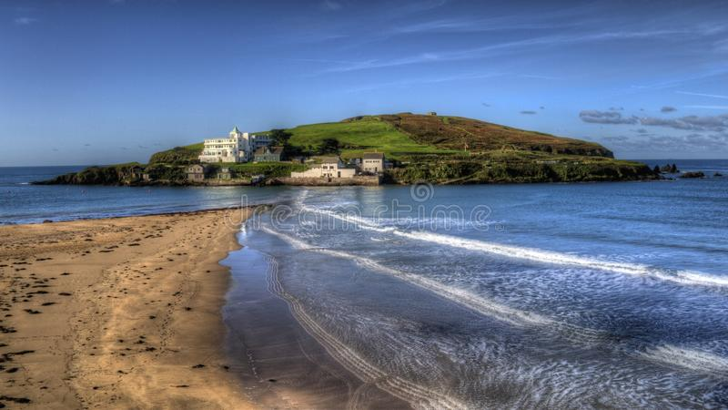 Download Looking Towards Burgh Island Bigbury-on-sea Stock Photo - Image: 27182486
