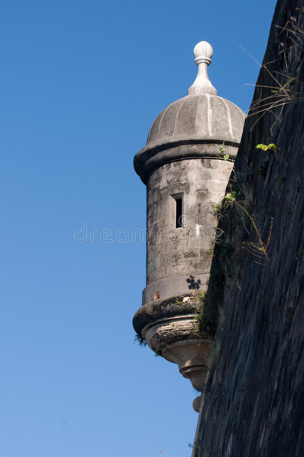 Looking Up The Fortification Royalty Free Stock Photos
