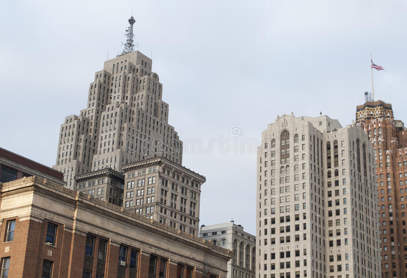 Downtown Buildings royalty free stock photos