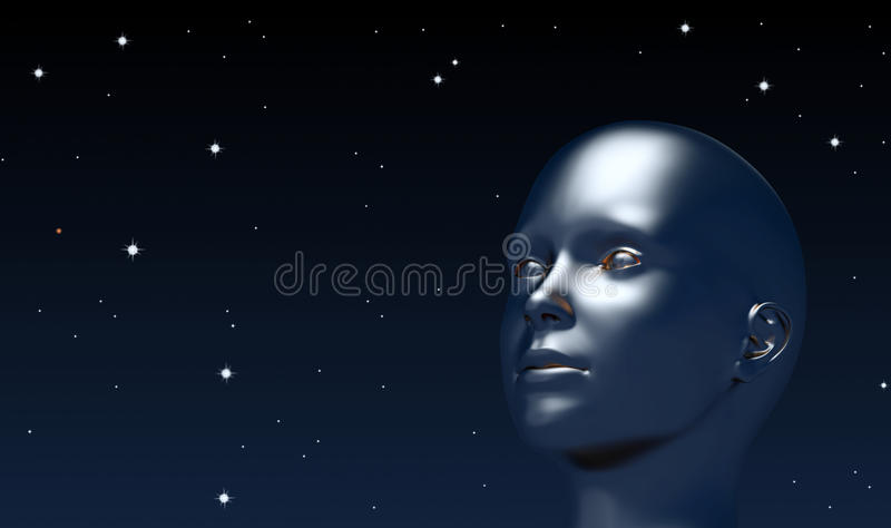 Download Looking up at universe stock illustration. Image of astrology - 28539292