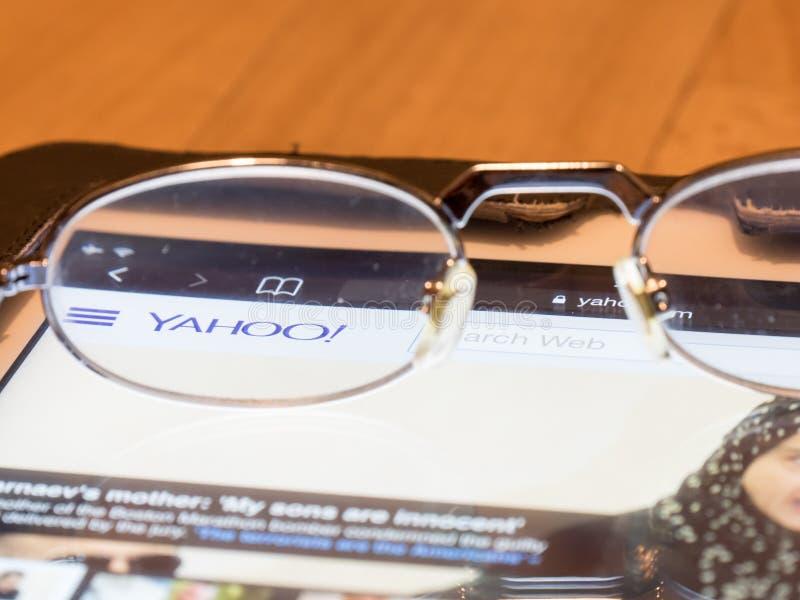 Looking at Yahoo! stock photos