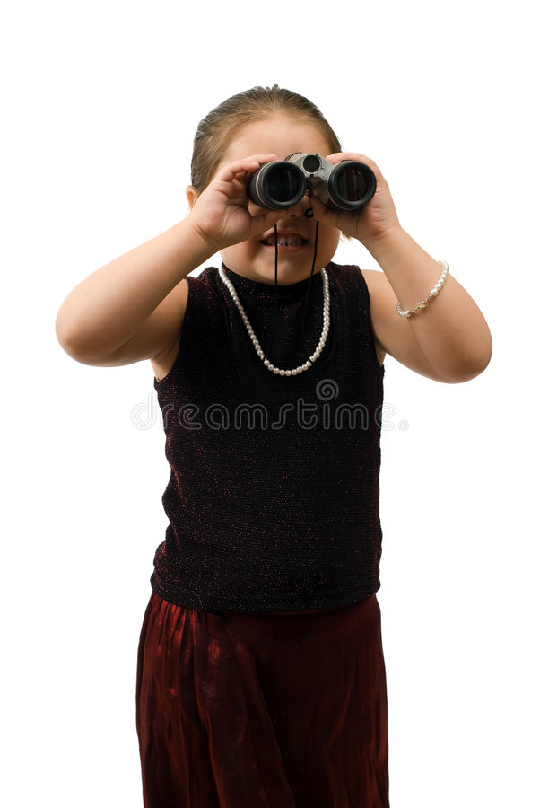 Download On The Lookout stock photo. Image of enjoyment, little - 8411350