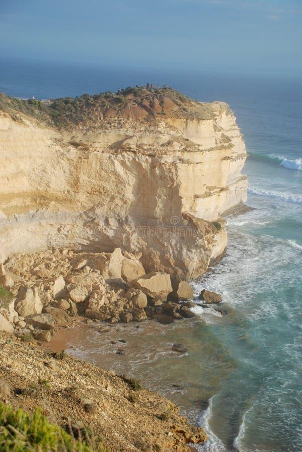 Lookout point at the Twelve Apostles, Australia royalty free stock image